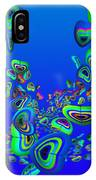 Rainbow Blue IPhone Case