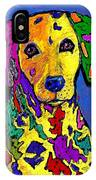 Rainbow Dalmatian IPhone Case