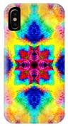 Rainbow Light Mandala IPhone Case