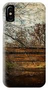 Rapps Dam Covered Bridge IPhone Case