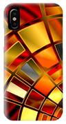 Red And Gold IPhone Case