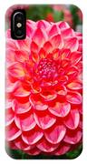 Red And White Flower IPhone Case