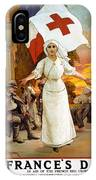 Red Cross Poster, 1915 IPhone Case