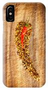 Red Hot Chilli Concept IPhone Case