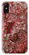 Red Lichen  IPhone Case