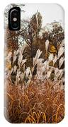 Reeds Highlighted By The Sun IPhone Case