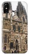 Regensburg Cathedral IPhone Case