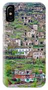 Residents Moved From Homes In Cliffs To Homes Below In 1951 In Cappadocia-turkey IPhone Case