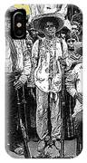 Revolutionary Soldiers Unknown  Mexico Location 1914-2014 IPhone Case