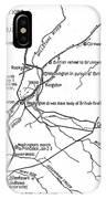 Revolutionary War Plan IPhone Case