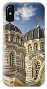 Riga Orthodox Cathedral IPhone Case