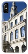 Riga Town Hal IPhone Case