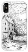River Mill IPhone Case