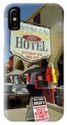 Route 66 - Oatman Arizona IPhone Case