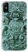 Royal Lion And Unicorn Coat Of Arms On The Gate Of The Wellington Arch At Hyde Park Corner London IPhone Case