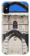 Ruins Of Carmo Convent In Lisbon IPhone Case
