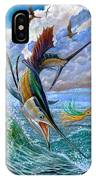 Sailfish And Lure IPhone Case