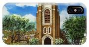 Saint Andrews Episcopal Church Bryan Texas IPhone Case