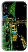 Sakuragicho At Night IPhone Case