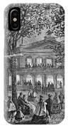Saratoga Springs, 1865 IPhone Case