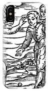 Satan & Sorcerer, 1626 IPhone Case