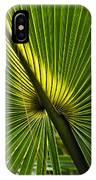 Saw Palmetto  IPhone Case