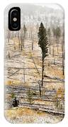 Sawback Burn, On Bow Valley Parkway IPhone Case