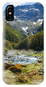 Scenic Valley In New Zealand IPhone Case
