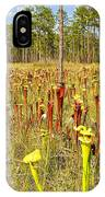 Schnell's Pitcher Plant IPhone Case