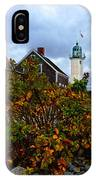 Scituate Lighthouse IPhone Case