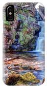 Scotish Waterfall Hdr IPhone Case