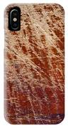 Scratched Wood Texture IPhone Case