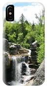 Screw Auger Falls At Grafton Notch State Park  IPhone Case