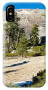 Sentinel Dome From Sentinel Dome Trail In Yosemite Np-ca  IPhone Case
