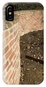 Serpentine Wall University Of Virginia IPhone Case