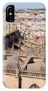 Seville Cityscape IPhone Case