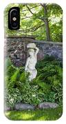 Shady Perennial Garden IPhone Case