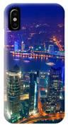 Shanghai Pudong Skyline IPhone Case