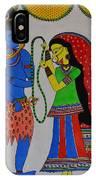 Shiv Parvati IPhone X Case