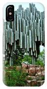 Sibelius Memorial Park In Helsinki-finland IPhone Case