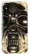 Skull In Sepia IPhone Case