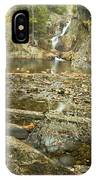 Smalls Falls In Autumn Western Maine IPhone Case