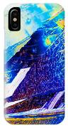 Sodium Thiosulphate Crystals In Polarized Light IPhone Case