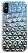 Spaceship Earth IPhone Case