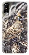 Spinifex Pigeon IPhone Case
