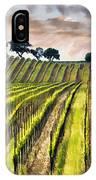 Spring Vineyard IPhone Case