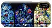 Stained Glass Chagall Windows IPhone Case