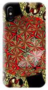 Stained Glass Kaleidoscope Under Glass IPhone Case