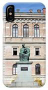 Statue Of Bishop Strossmayer IPhone X Case