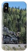 Steam Engine 488 At Osier On The Cumbres And Toltec Scenic Railroad IPhone Case